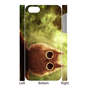 Lovely Durable Owls 3D pattren Otterbox for iPhone5