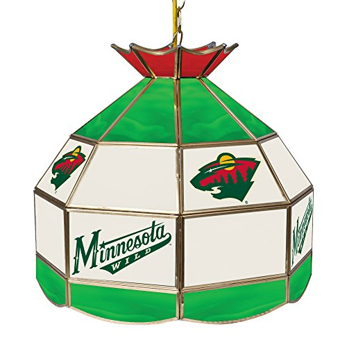 Minnesota Wild Pool Table Light, Wild Billiards Table