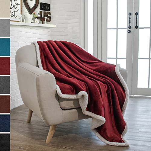 sherpa throw blanket soft
