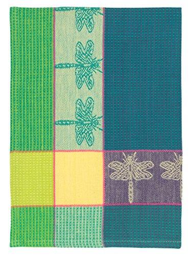 100% Cotton Green & Purple 20