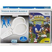 Sega SuperStars Tennis Plus 2 Custom Designed Tennis Rackets Bundle ( Controller Not Included)