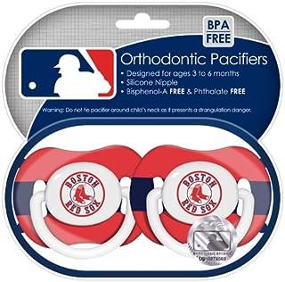 Boston Red Sox Pacifier–Confezione da 2
