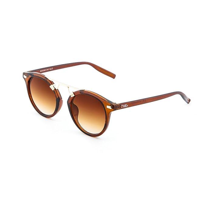 Occhiali da sole TWIG Mallarmè uomo/donna UV 400 sunglasses (Tartaruga Nero) wTRWsiCcFr