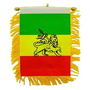 "FindingKing Etiopía bandera Mini bandera 3""x 5"""