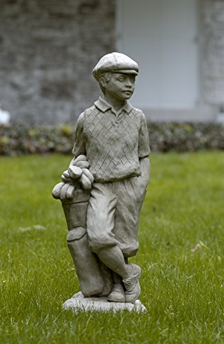 Campania International S-223-GS Male Golfer Statue, Greystone