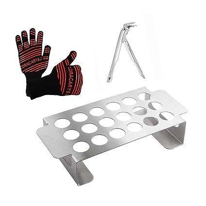 Amazon.com: QQMaster - Rejilla de pimienta con guantes de ...