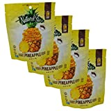 Natural Sins Baked Certified Kosher Crispy Pineapple Chips 1 oz 4 pack