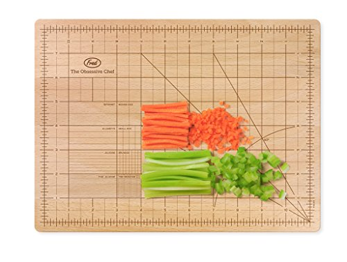 Fred THE OBSESSIVE CHEF Bamboo Cutting Board,...