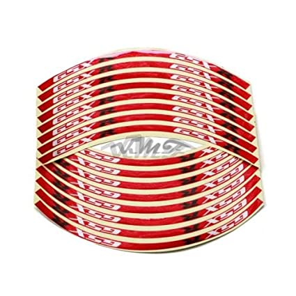 Reflective Rim Stripe Wheel Tape Decal Stickers For Suzuki GSXR50//250//400//1100