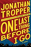 """One Last Thing Before I Go"" av Jonathan Tropper"