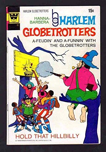 HARLEM GLOBETROTTERS 2 6.5 FINE 1972 WHITMAN CBS TV SPORTS CARTOON SHOW