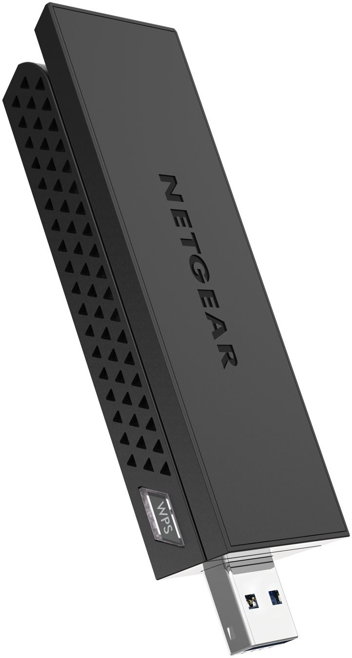 NETGEAR - AC1200 Dual-Band WiFi USB 3.0 Adapter (A6210-10000S) Black - Refurbished by NETGEAR