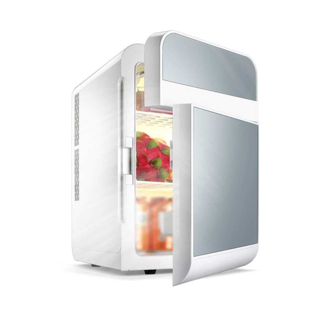 SryWj 20L Doppelkühlung Auto Mini Schlafsaal Schlafwagen Mit Doppel-Tür Kühlschrank