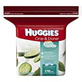 HUGGIES One & Done Refreshing Clean Baby Wipes Refill, 176 sheets (Clean Baby Wipes)