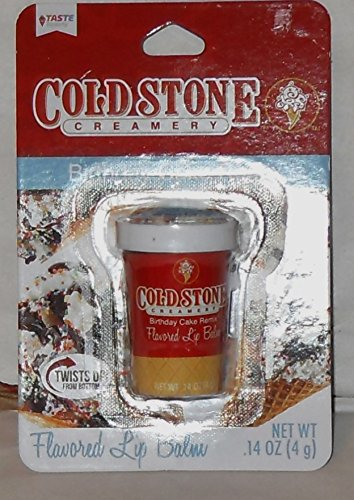 Amazoncom Taste Beauty Cold Stone Creamery Flavored Lip Balm