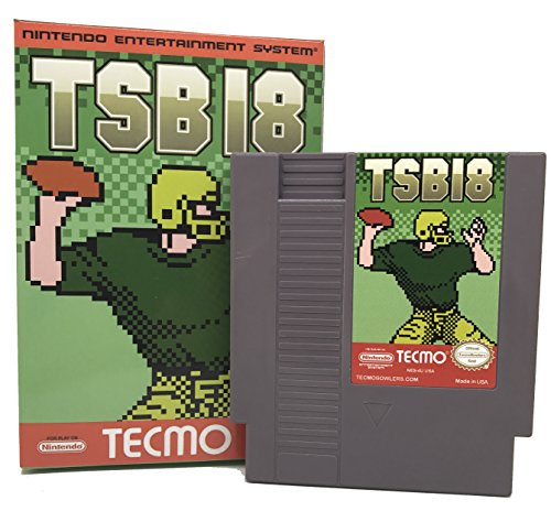Tecmo Super Bowl 2018 - TSB18 - NES Cartridge