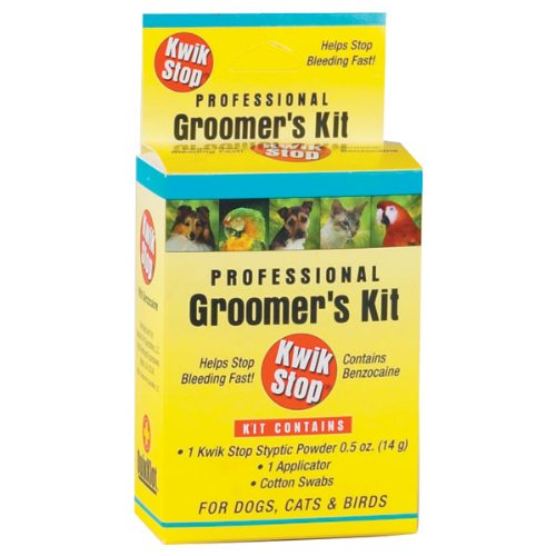 Miracle Care by Miraclecorp/Gimborn Kwik-Stop Groomers Kit for Dogs, Cats and Birds