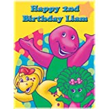 """Single Source Party Supply - Barney Edible Icing Image #1-10.5"""" x 16.5"""""""