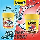 TetraBetta Floating Mini Pellets for Bettas, 1.02 oz