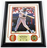 Tony Gwynn Game Used Collection Photo Bat Coin Highland Mint Framed DF024868 - MLB Game Used Bats