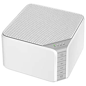 white noise sound machine avantek 20 non looping high fidelity soothing sounds for. Black Bedroom Furniture Sets. Home Design Ideas