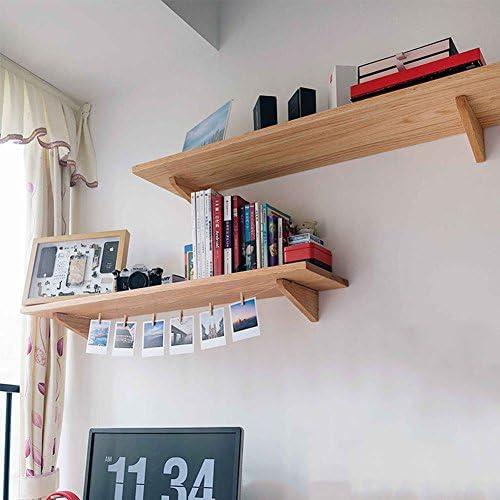 WOODJU Estantería flotante estante de madera estante para ...
