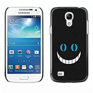 Paccase / Hard Protective Case Cover for - Big Smile - Samsung Galaxy S4 Mini i9190 MINI VERSION!