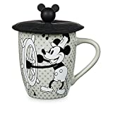 Disney Mickey Mouse Steamboat Willie Mug with Lid