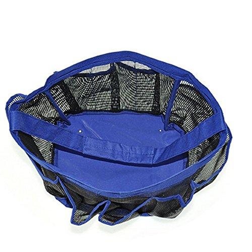 shower caddy 8 pocket waterproof mesh storage organizer bage
