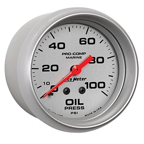Auto Meter AutoMeter 200777-33 Ultra-Lite Gauge, Oil Pressure, 2 5/8