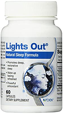 Roex Lights Out Dietary Supplements, 60 Count