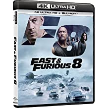 Fast & Furious 8 (4K UHD + Blu-Ray) (Hong Kong Version / Chinese subtitled) aka The Fate Of The Furious / 狂野時速8