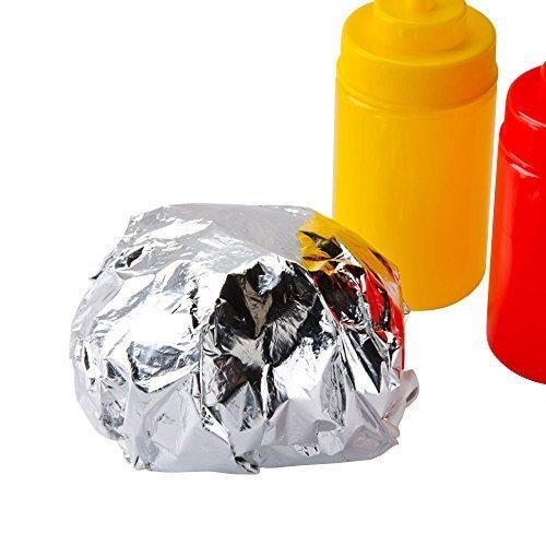 Decony Insulated Foil Sandwich Wrap Sheets/Paper 10 3/4