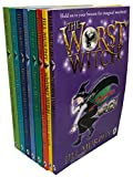 The Worst Witch 8 Books Collection Set By Jill Murphy (The Worst Witch, Strikes Again, A Bad Spell, All At Sea, Saves The Day, To The Rescue, Wishing Star & First Prize)