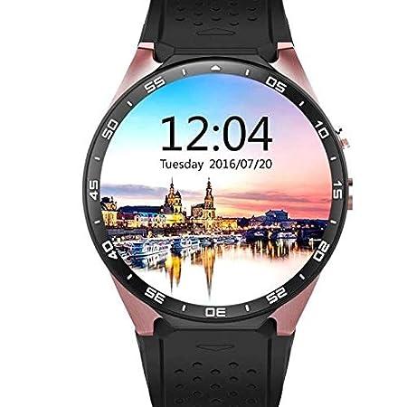SMLSMGS Reloj Inteligente WiFi Inteligente Reloj Android 5.1 OS ...