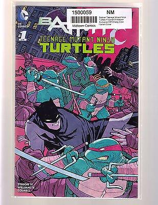 Amazon.com : DC BATMAN TEENAGE MUTANT NINJA TURTLES #1 ...