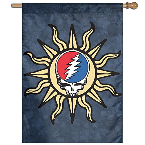 american-grateful-skull-sun-liquid-blue-garden-flag-outdoor-flags-decorative-flag-27x37