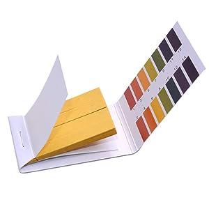 Ph. 1-14 Test Paper Extensive Test Paper Litmus Test Paper Sonkir pH Test Strips,Test pH for Saliva Urine Water Soil Testing(2-Pack pH Test Strips)
