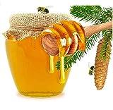LASSUM 10 Pieces 3 Inch Wood Honey Dippers