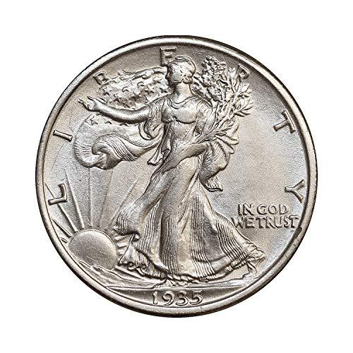 - 1935 P Walking Liberty Half Dollar - Gem BU/MS/UNC