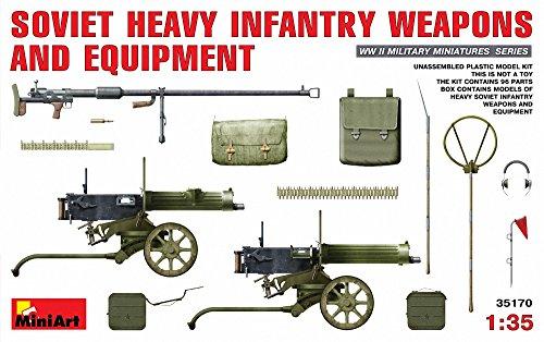1:35 Soviet Heavy Infantry Weapons & Equipment Model Kit (Heavy Equipment Model Kits)