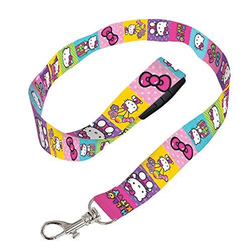 Amscan Adorable Hello Kitty Lanyard Birthday Party Favor (1 Piece), 18 1/2 x 3/4, Multicolor