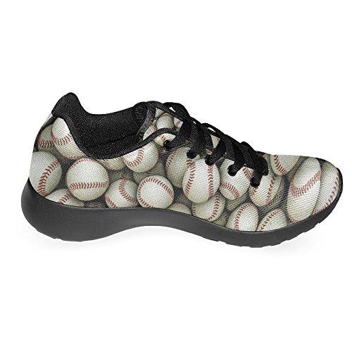 InterestPrint Damen Jogging Running Sneaker Leichtes Leicht Gehendes Leichtes Komfort Sport Laufschuhe Baseballs