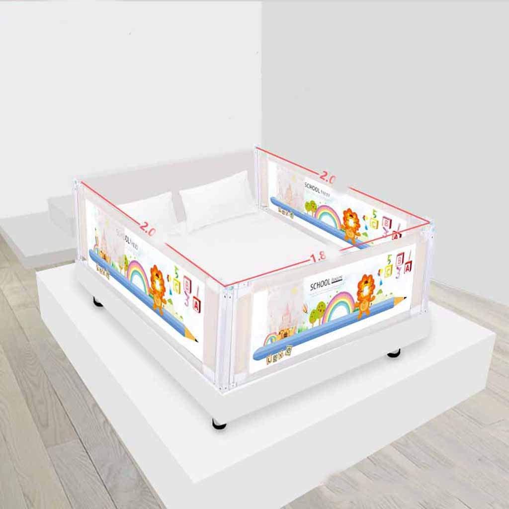 ベッドフェンスベビードロッププロテクションバー垂直リフトベビーワイ子供のユニバーサルバッフル SHWSM (Color : Lion)  Lion B07TC75316