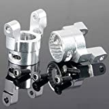 Toyoutdoorparts RC AX80062 S. Alum XR10 C Hub Carrier Set For AXIAL 1:10 4WD RR10 BOMBER AX90048
