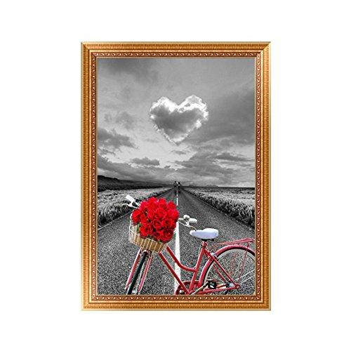 Doober DIY 5d自転車クラウドダイヤモンド刺繍絵画クロスステッチクラフトホームデコレーション、