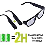 ViView G50H (2018 Newest) -WIFI - Video Camera Glasses HD 1080P (32GB Max & Included)Touch it -Free Your Hands - Outdoor/Training / Teaching/Kids / Pets -Live Show (Android/IOS)