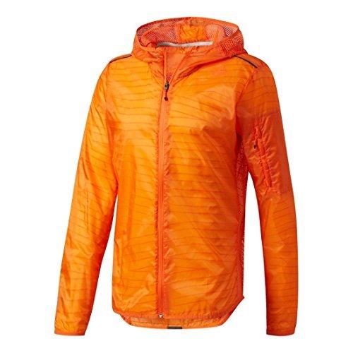 adidas Men's Running Tokyo Jacket, Energy Orange, Small