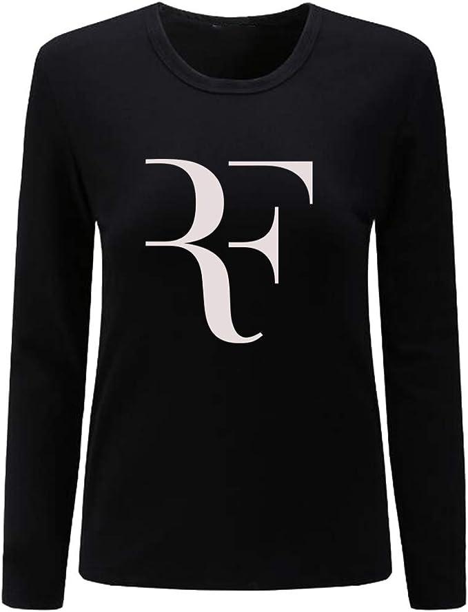 CIN-FAN Womens Tennis Player RF Shirt Long Sleeve