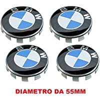 4Tapacubos compatibles con BMW, 55mm, Serie 1234567M Z